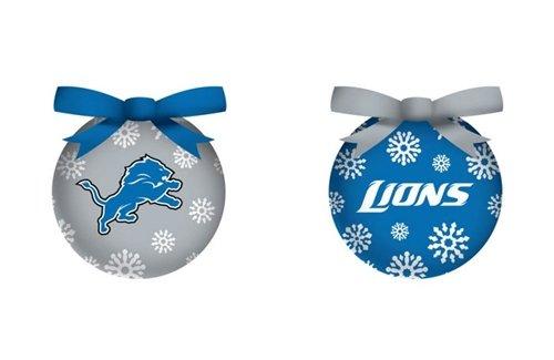 Detroit Lions Led Box Set Ornaments