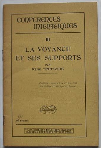 Lien de téléchargement de livre pdf gratuit La Voyance et ses supports,  conférence faite par f1de0b76e724