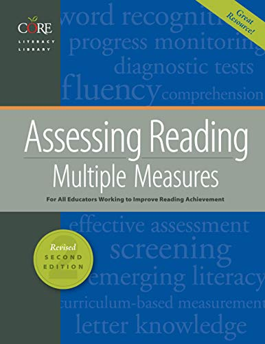 Assessing Reading Multiple Measures Revised 2nd Edition 2018