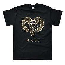 Stooble Men's Hail Satan T-Shirt