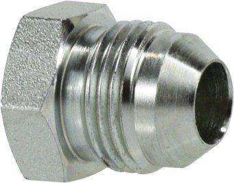 Midland 2408-14 Straights Steel Flare 37degree Plug 7//8 Tube O.D x 1-3//16-12 JIC Thread 7//8 Tube O.D x 1-3//16-12 JIC Thread Midland Metal Mfg.