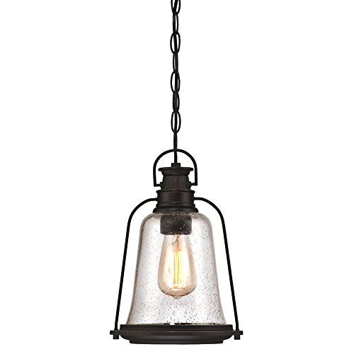 Oil Rubbed Bronze Outdoor Pendant Light in US - 2