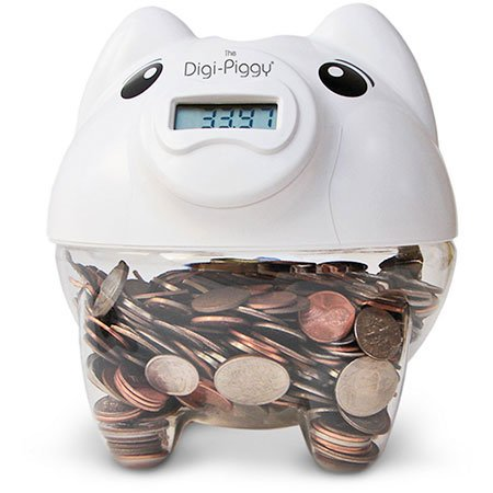 - The Digi-Piggy Digital Coin Counting Bank