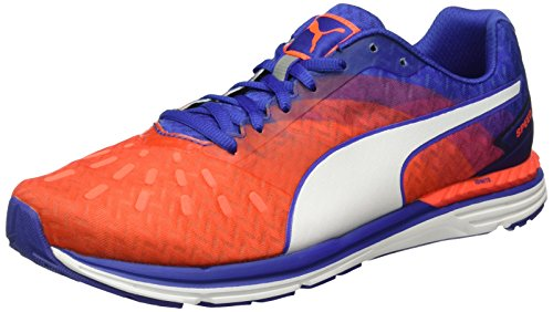 Puma Speed 300 IGNITE Wn - Zapatillas de running Mujer Rojo - Rot (Red blast-Royal Blue-puma White 04)