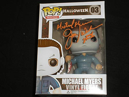 JIM WINBURN Signed Michael Myers Funko Pop Figure Autograph Halloween I]()