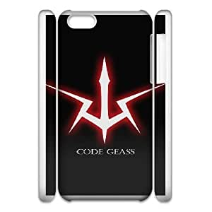 Protection Cover iphone5c 3D Cell Phone Case White Wcnnr Code Geass Personalized Durable Cases