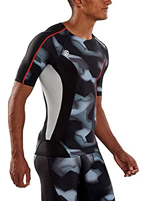 SKINS Mens DNAmic Men's Compression Short sleeve Top