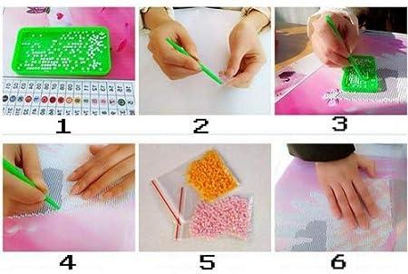 Demiawaking idea regalo 01 kit di diamanti sintetici per quadro a mosaico 5D fai da te decorazione da parete per salotto o camera da letto