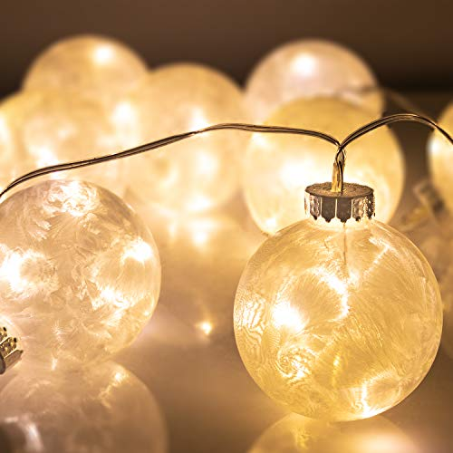 Lighted Balls Outdoor Trees