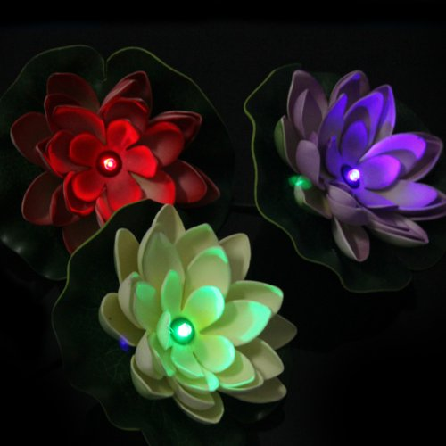 Floating Flower Solar Pool Lights