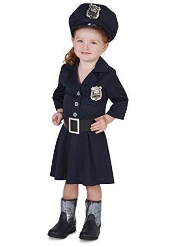 Toddler Girls Police Costume (Police Costume For Toddler Girl)