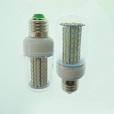 elegantstunning 126LEDs Spot light High Luminous E27 85-265V LED Lamp 4014 SMD No Flicker LED Corn Bulb For Home Lighting