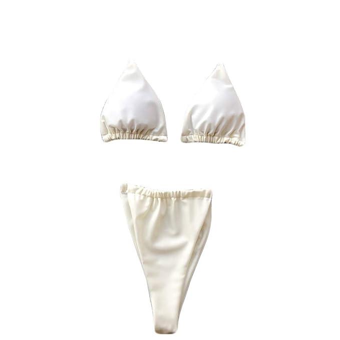 6786457d7929 Morran Moda Mujer Hot Sexy Bikini Push Up Traje de baño Conjunto de ...