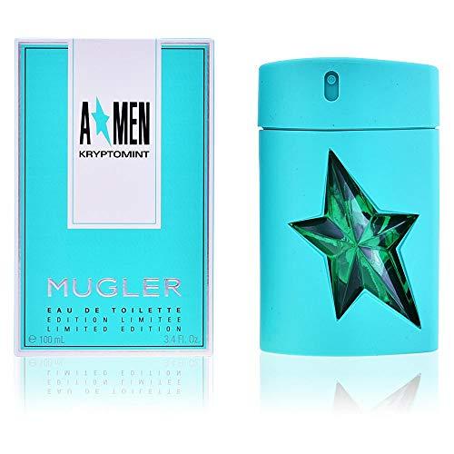 (Thierry Mugler Angel Men Kryptomint Eau De Toilette 3.4 Oz/ 100 Ml - Spray - Limited Edition for Men By 3.4 Fl Oz )
