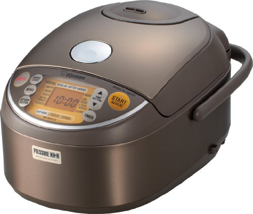 Zojirushi INP-NVC10 Induction Heating Pressure Rice Cooker & Warmer 1.0 Liter