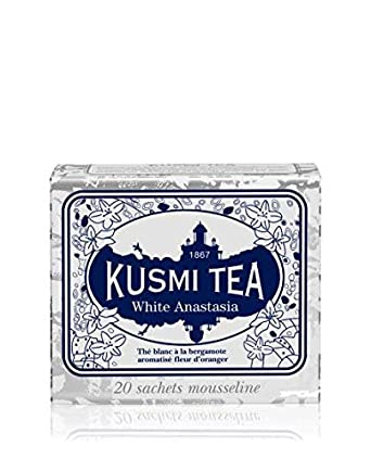 Kusmi Tea blanco Anastasia té blanco – bergamota, flor ...