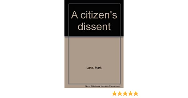 A Citizens Dissent