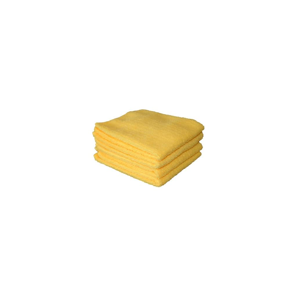 Linens-Limited-Microfibre-Multi-Purpose-Cloths-Lemon-4-Pack-0