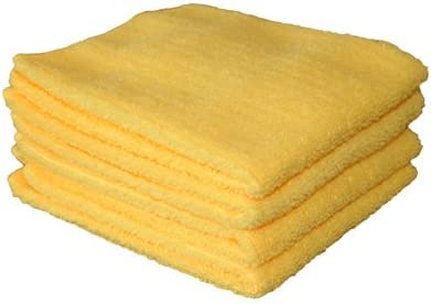 Linens-Limited-Microfibre-Multi-Purpose-Cloths-Lemon-4-Pack-0
