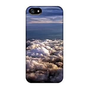 New Style Sandrower Above Clouds Landscape Premium Tpu Cover Case For Iphone 5/5s