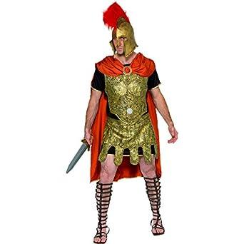 amazon com smiffys men s roman soldier tunic costume cape tunic