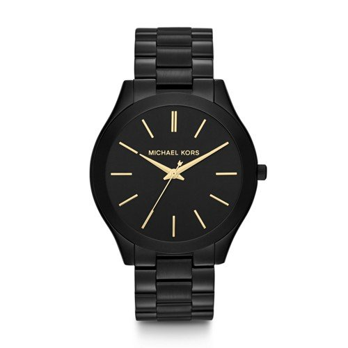 Michael Kors Women's Slim Runway Black Watch - Kors Michael Ladies