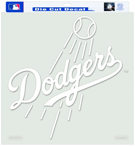 MLB Los Angeles Dodgers 18-by-18 Inch Diecut Decal ()