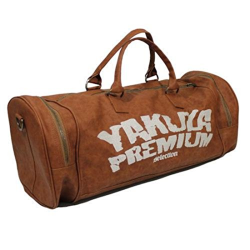 Yakuza Premium Tasche hellbraun/weiß