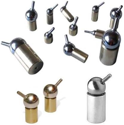 - Starke magnetische Universal-Gelenke Betriebstemperatur: Max /Ø 12.5 Fu/ß /Ø8-25mm * NdFeB Magnet Kugelgelenk Magnetische Kugelgelenke Gr/ö/ße:/Ø 8 Kugel Neodym 100 /°C Haftkraft 10 N