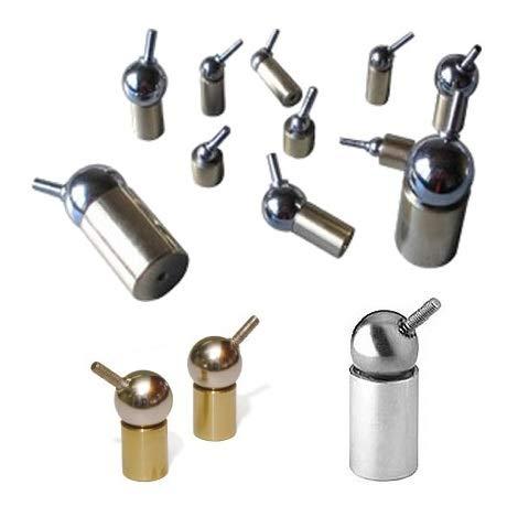 Betriebstemperatur: Max /Ø 12.5 Fu/ß - Starke magnetische Universal-Gelenke 100 /°C NdFeB /Ø8-25mm Haftkraft 10 N Magnet Kugelgelenk Magnetische Kugelgelenke * Gr/ö/ße:/Ø 8 Kugel Neodym
