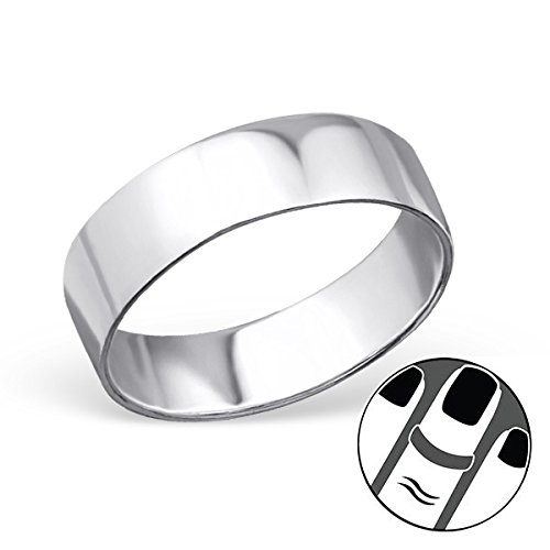 Pro Jewelry 925 Sterling Silver Above Knuckle Ring Mid Finger Top 7113