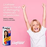 Licefreee Spray, Head Lice Treatment for Kids and