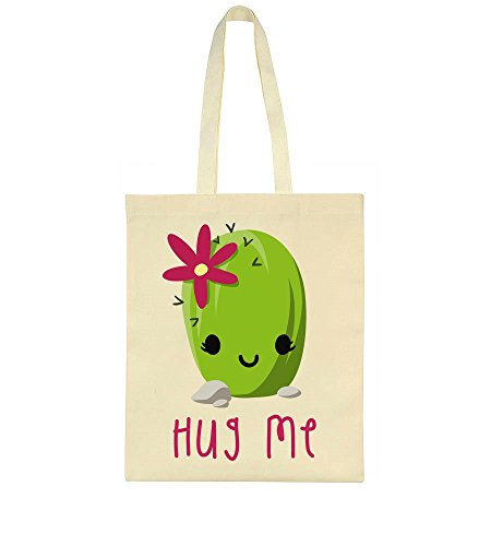 Tote Cute Green Little Bag Hug Me Cactus Okn08wP