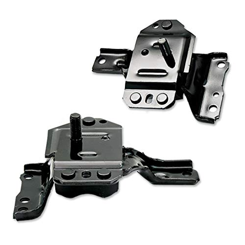 K1787 Fits 1996-2004 Ford Mustang 4.6L Front Left & Right Motor Mount Set 2pcs : A3002, - Ford Engine Mustang Mount