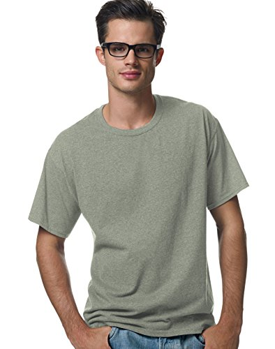 Garment T-shirt Short Washed Sleeve (Hanes Short Sleeve 50/50 T-Shirt Big Sizes - 5170x - Stonewashed Green, 3XL)