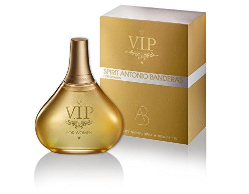 Spirit Vip Eau De Toilette Spray by Antonio Banderas, 3.4 Ounce
