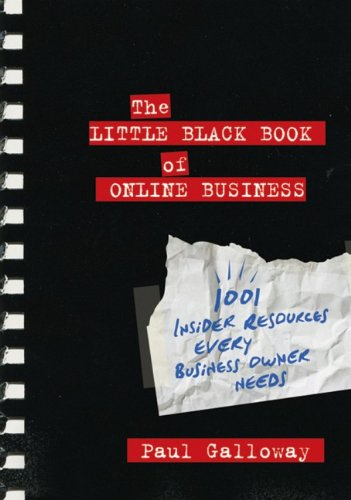 41kUGZPdNzL - The Little Black Book of Online Business: 1001 Insider Resources Every Business Owner Needs