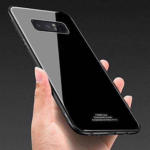LR Back Cover for Samsung Galaxy Note 8  TPU Black