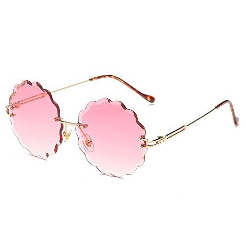 Lunettes Mode De sans Couleur Cadre Pink De À Monture Polie Marine Soleil De Personnalisées Lunettes Soleil De wqxp87rUw