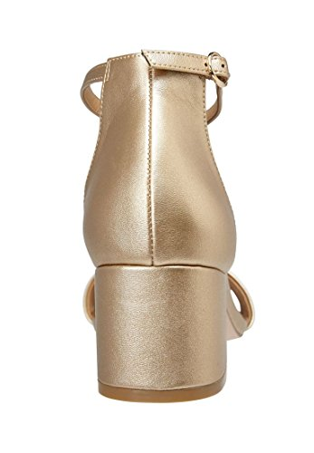 Comfortview Ancho Sandalias Mujer Orly Oro