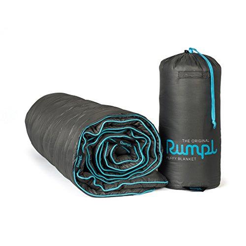 Rumpl The Original Puffy Blanket, Charcoal Grey, (Down Bed Jacket)
