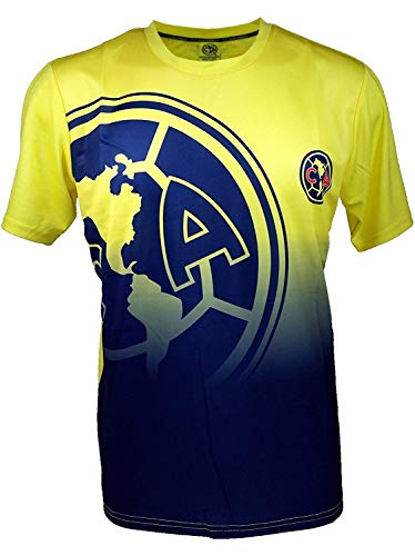 Club America Soccer Official Adult Soccer Training Performance Poly Jersey -J006 Medium