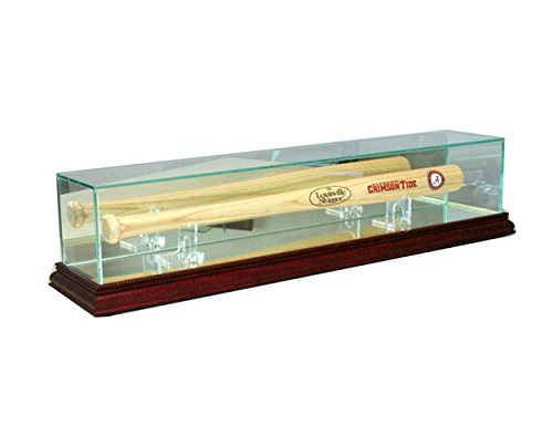 Mirror Back Bat Display (Perfect Cases MNIBSBT-C Mini Bat Display Case44; Cherry)