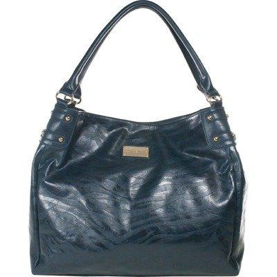 Amy Michelle Zebra Diaper Bag, Turquiose