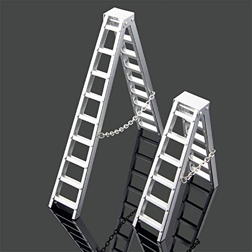 m·kvfa Mini Miniature Simulation Ladder for SCX10 90046 CC01 D90 TRX-4 1:10 RC 4WD Rock Crawler Easy to Install and Durable (Patio Stools Az Bar)