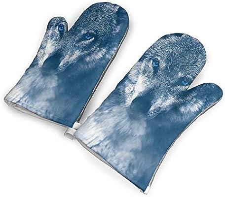 Pair of Wolf Gloves