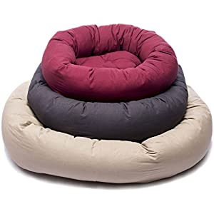 B00UV9S3FEHZA Dog Gone Smart Repelz-It Donut Bed, 27 Inches, Pebble Grey