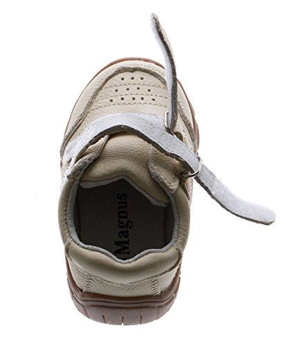 Magnus - Zapatillas de Piel para niño Beige