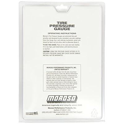Moroso 89560 TIRE GAUGE,0-60LB,2-5/8IN: Automotive