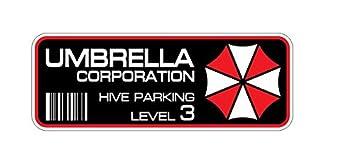 2x Umbrella Corporation Hive Parking Sticker Decal Aufkleber Digital Print Resident Evil Windscreen Movie Jdm Dub Auto Car Racing